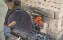 Moychay firing of moychaycom ceramics in a wood kiln 24